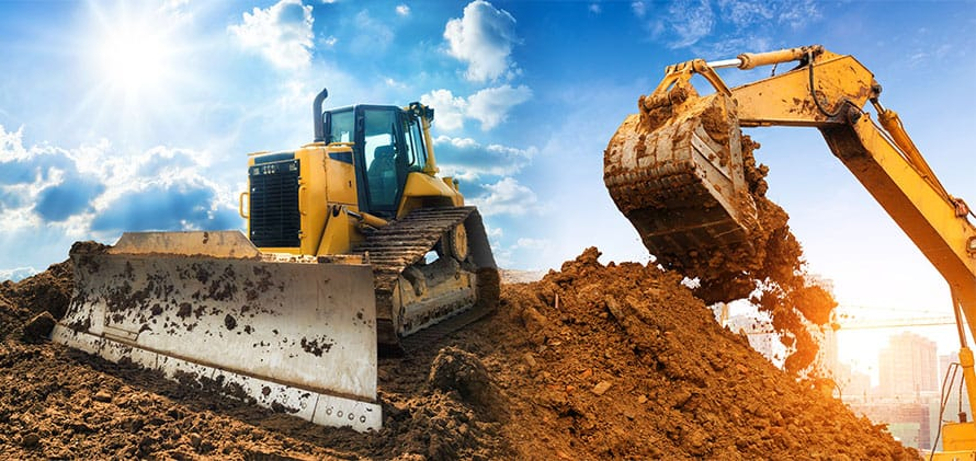 excavation equipment for water drainage services